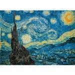 Clementoni - Puzzle 500 pièces - Van Gogh : La nuit étoilée