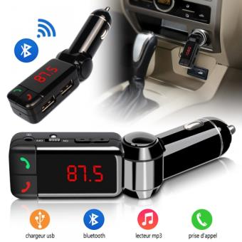 kit mains libres connexion bluetooth pour voiture. Black Bedroom Furniture Sets. Home Design Ideas