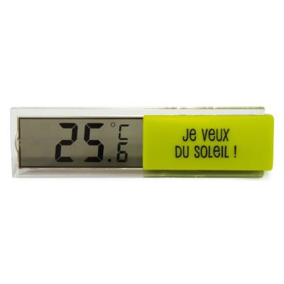 Thermomètre Digital d'Intérieur - Vert