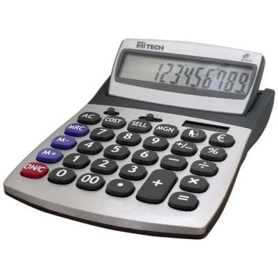 Hitech C1509BL calculatrice de bureau Achat prix fnac
