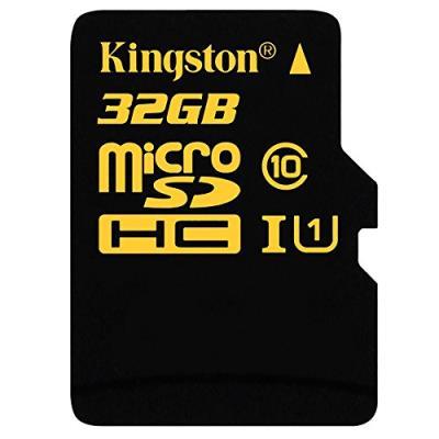 Kingston carte microsdhc 32 gb uhs sdca10/32gb classe 10