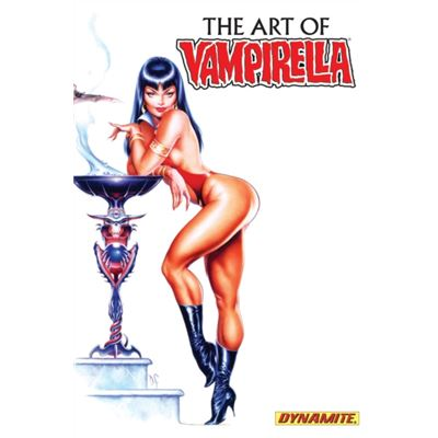 Art Of Vampirella (Hardcover)