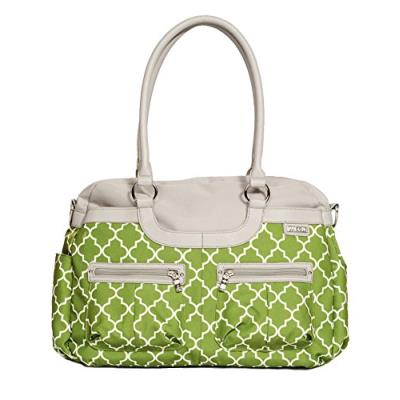 Tomy jj cole sac à langer satchel aspen arbor vert/blanc
