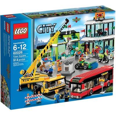 Calendrier De L Avent Lego Star Wars Carrefour.Lego City 60026 Le Carrefour De La Ville