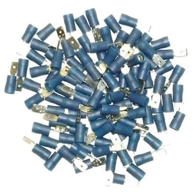 Cosses Electriques Males Bleues 4.7 Sachet De 100 Cosses