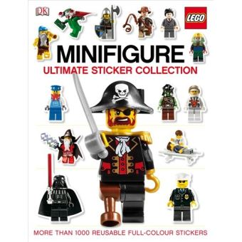 Livre Lego Minifigure Ultimate Sticker