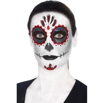 Maquillage Halloween Mariee.Kit Maquillage Mariee Mexicaine Halloween Maquillage A La Fnac