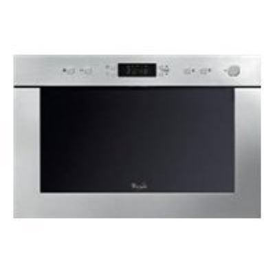 Whirlpool AMW 497 IX - Four micro-ondes grill - intégrable - 22 litres - acier inoxydable