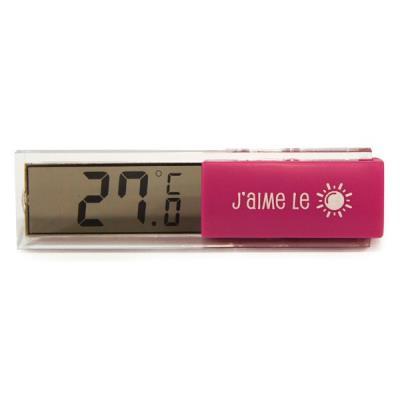 Thermomètre Digital d'Intérieur - Fushia