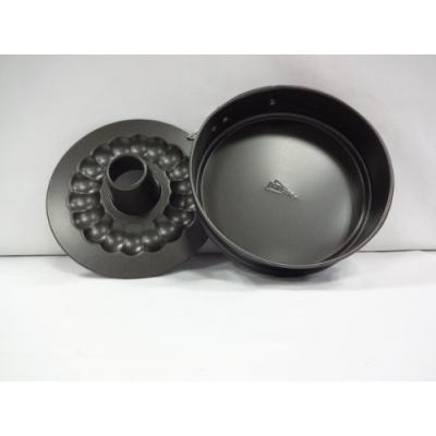 patisse 2904 moule à manquécharnière antiadhésif double fond acier revêtu gris anthracite 16 cm