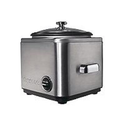 Cuisinart CRC400E - cuiseur à riz - acier brossé