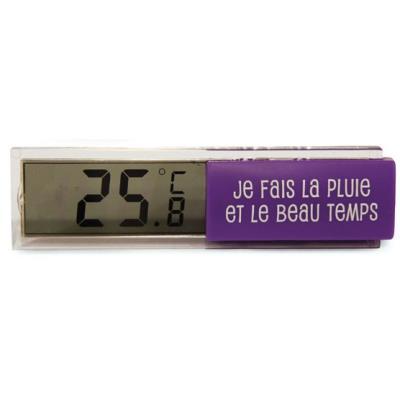 Thermomètre Digital d'Intérieur - Violet