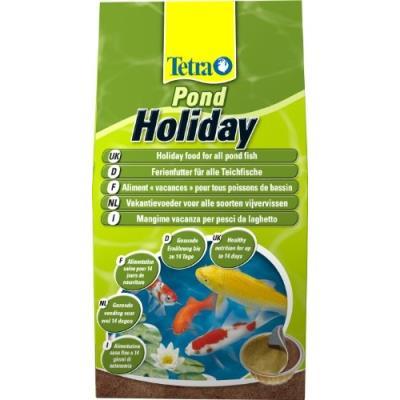 Tetra Pond Holiday Nourriture Pour Poissons De Bassin Spécial Vacances 98 G Lot De 2