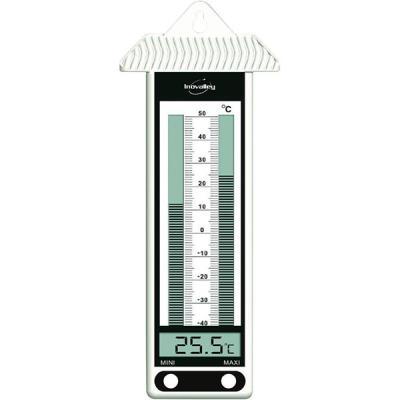 Thermomètre élect. Intérieur Inovalley 315EL BLANC