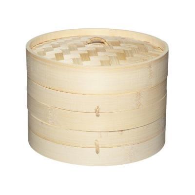 Kitchen craft pure oriental cuit vapeur bambou 2 niveau + couvercle