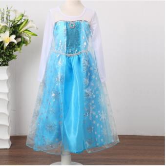 Robe princesse elsa d guisement reine des neiges d guisement enfant achat prix fnac - Robe elsa reine des neiges ...