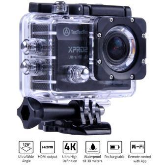 TECTECTEC XPRO2 NOIRE - Caméra Sport Ultra UHD 4K Wifi