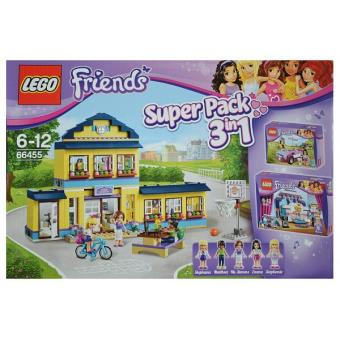 Lego friends 66455 pack 3 en 1 l 39 cole d 39 heartlake 41005 - Lego friends l ecole ...