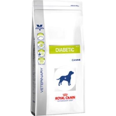 Croquettes royal canin veterinary diet diabetic pour chiens sac 12 kg