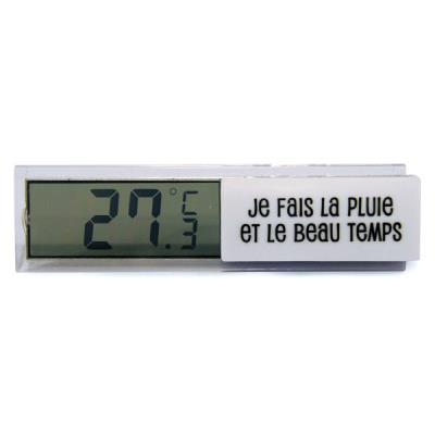 Thermomètre Digital d'Intérieur - Blanc