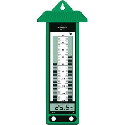 Thermomètre élect. Intérieur Inovalley 315EL VERT