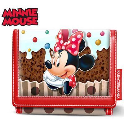 Karactermania Minnie Mouse Muffin-Wallet Porte-monnaie, 12 cm, Marron (Brown)