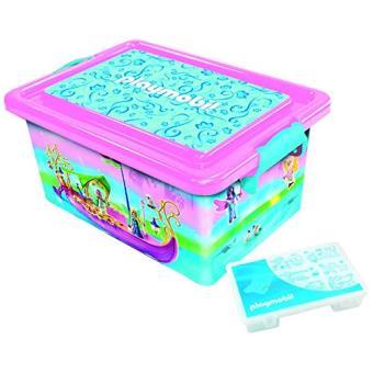 Boite De Rangement Playmobil playmobil - 064674 - grande boîte de rangement 23 l + boîte