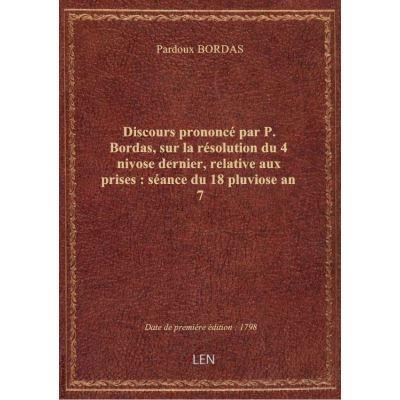Opinion de Dubois-Crancé, sur les moyens de restauration du crédit public : séance du 7 ventôse, l'an IVe / [du] Conseil des Cinq-cents