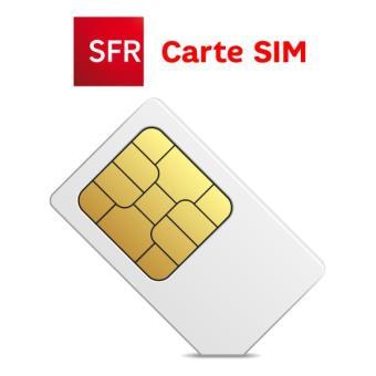 carte sim gratuite sfr Carte SIM SFR Abonnement multiSurf   Accessoire pour téléphone