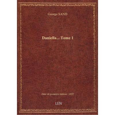 Daniella.... Tome 1