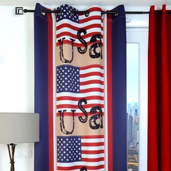 Rideau Occultant à oeillets USA Drapeau - Achat & prix | fnac