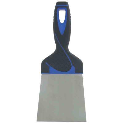 Outibat - Couteau à enduire inox - manche bi-matière 20 cm
