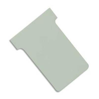 Lot de 5 Etuis de 100 fiches T NOBO en carton 170 g/m2 indice 2 gris