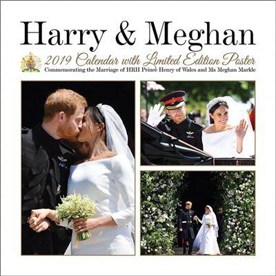 Royal Family Prince Harry et Meghan Calendrier 2019 carré 30 x 30 cm