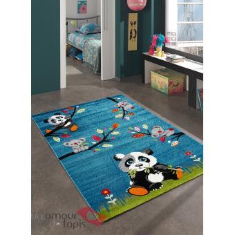 Tapis Chambre Enfant Sky Panda Undefined Par Unamourdetapis