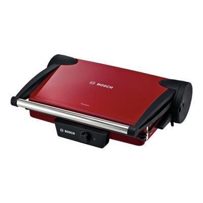 Bosch TFB 4402 V - Gril -électrique - 904.4 cm ² - rouge/anthracite
