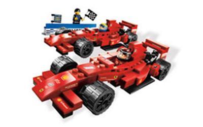 8168 La victoire Ferrari, Lego Racers