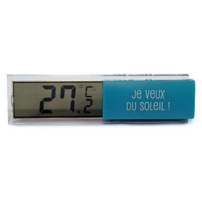 Thermomètre Digital d'Intérieur - Bleu