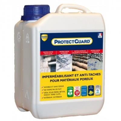 Anti taches sols poreux, matériaux poreux- protectguard 2l