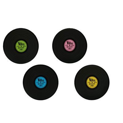 Sets de table disque vinyle - à l'unité - Diamètre 39 cm
