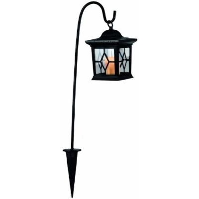 BEST SEASON 477-20 LANTERNE SOLAIRE LED AMBRE ENV. 58 X 14,5 CM