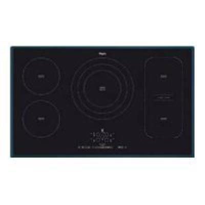 Whirlpool ACM 795/BA table de cuisson à induction - 90 cm - noir - vitrocéramique - avec bord à facettes