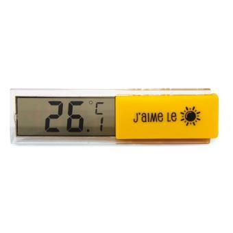 Thermomètre Digital d'Intérieur Jaune
