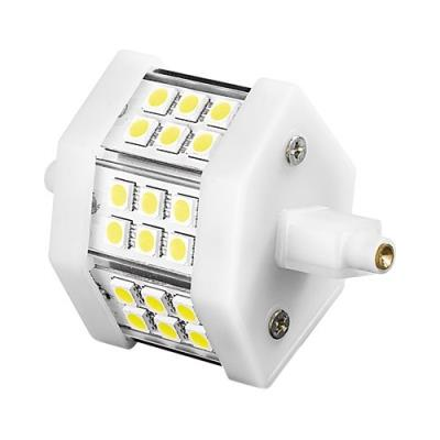 Ampoule 18 LED SMD High-Power R7S blanc chaud