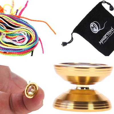 Yoyo k6 bronze saints or + 10 ficelles + housse