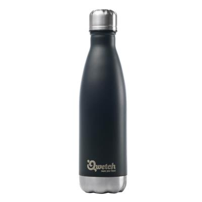 Qwetch - Bouteille isotherme inox écologique 500 ml