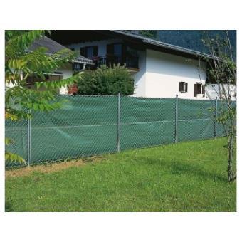 Brise vue 1x5m 220g-vert-Bache brise vue, jardin, terrasse - Bâches ...