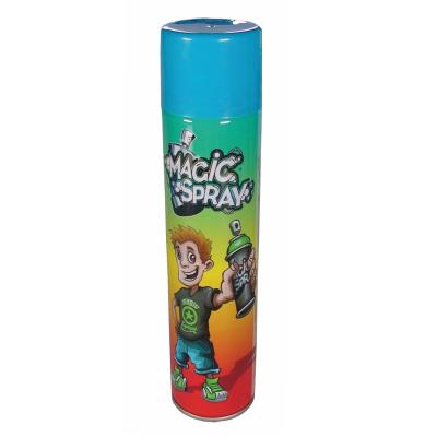 Bombe magic spray : bleu oid magic