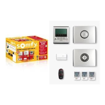 pack alarme sans fil protexiom 400 somfy quipements et. Black Bedroom Furniture Sets. Home Design Ideas