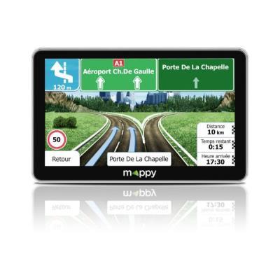GPS Mappy Maxi X755 Truck 7 Europe 44 pays Noir